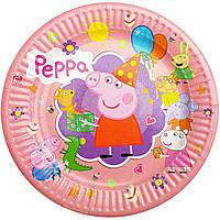 Тарелки бумажные Свинка Пеппа 10шт.