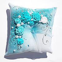 Подушка под кольца лепка №3
