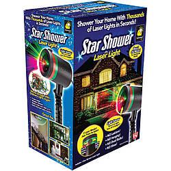 Звездный проектор Star Shower Laser Light. Уличный проектор Стар шовер