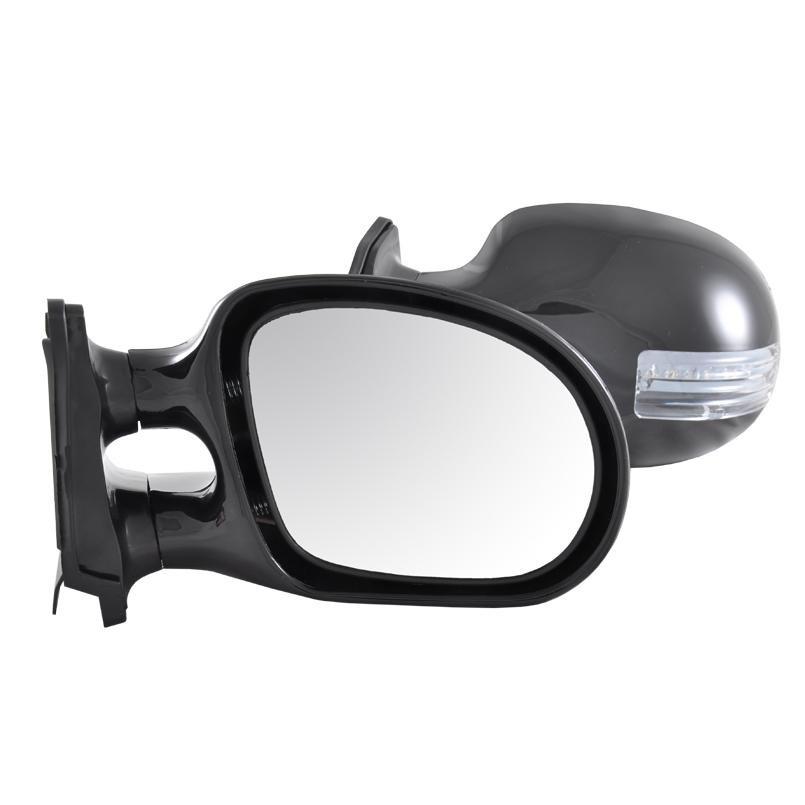 Зеркала боковые наружные CONDOR K1021 универсальные с LED поворотом