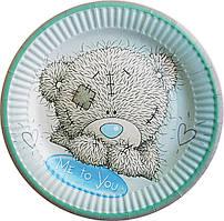 Тарілки паперові Ведмедик Тедді 10шт.