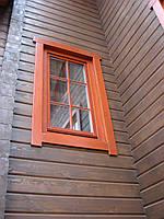Окна деревянные евростандарт
