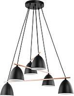 Люстра подвесная TK Lighting 2577 AIDA BLACK
