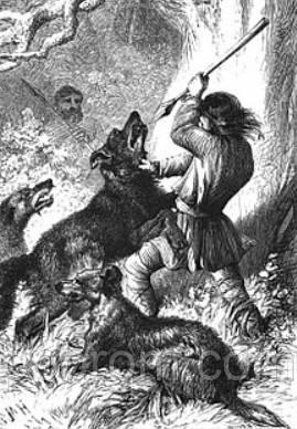 защита от собаки палкой