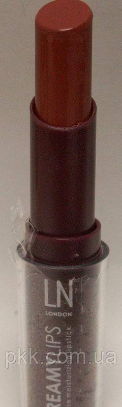 Помада для губ LN Professional Creamy Lips увлажняющая № 1 Простой нюд № 2 Кофейный крем
