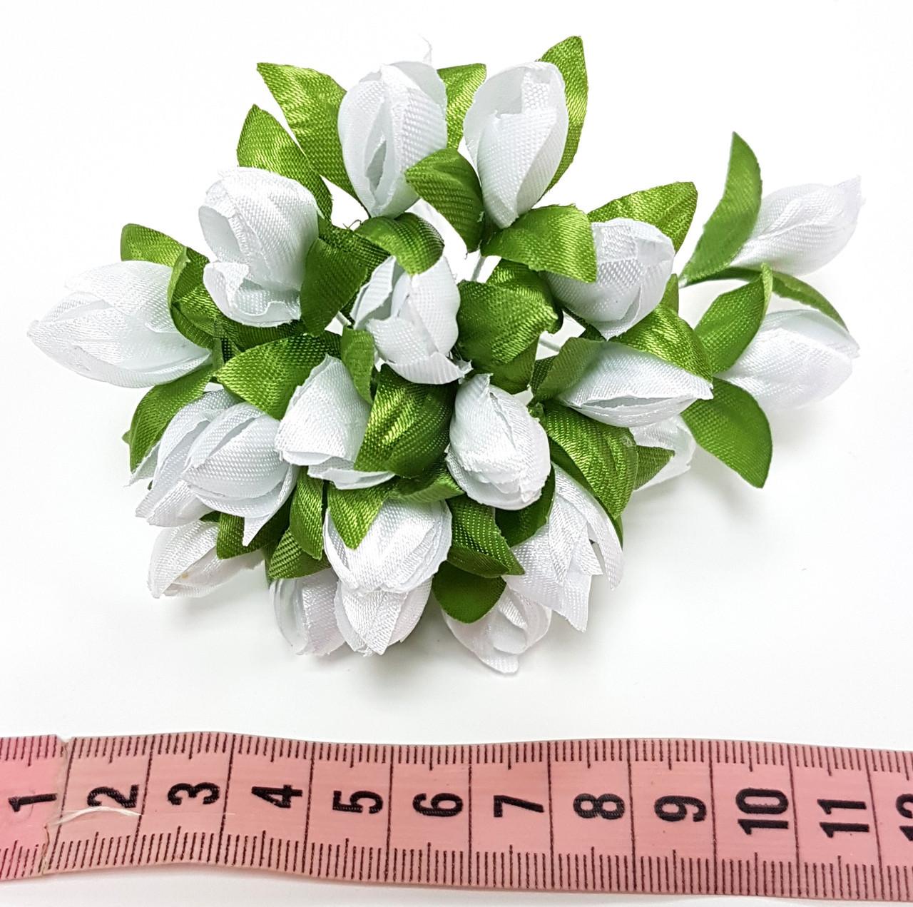 Подснежники 1 см 20шт белый