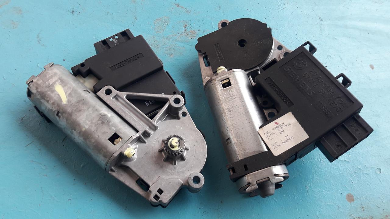 Мотор моторчик люка бмв е39 е53 bmw e39 e53 67618381480
