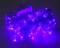 Гирлянда LED500B-1 500led прозрачная (синяя) в ящике 40шт. (без возврата, без обмена)