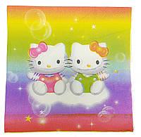 Салфетки бумажные 20шт. Hello Kitty