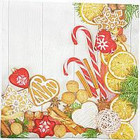 Салфетки новогоднии-21