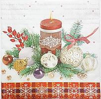Серветки новогоднии-24