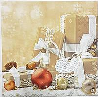 Салфетки новогоднии-28