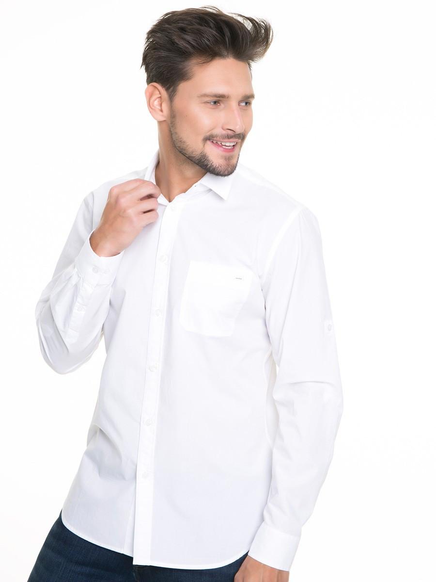 Рубашка с длинным рукавом мужская BS KOLISOS SHIRT LS 110 WHITE