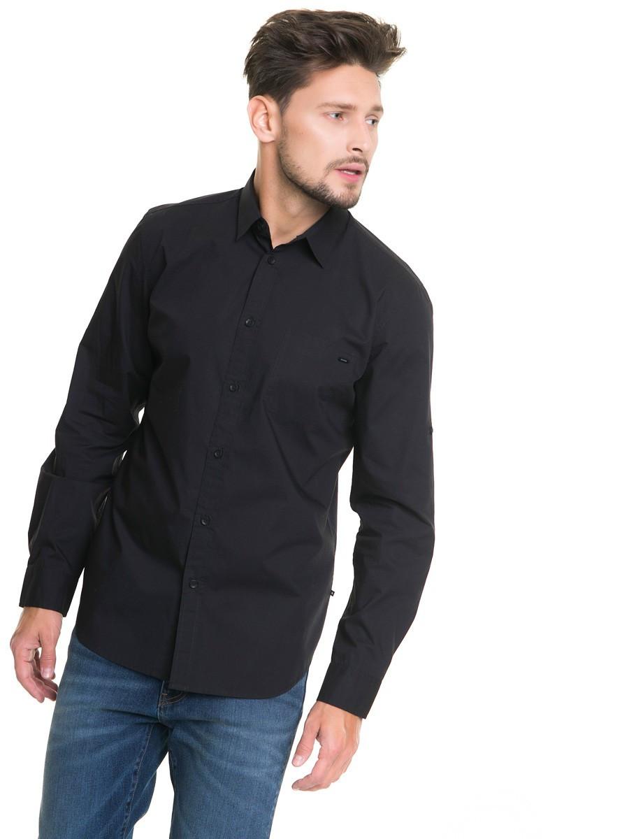 Рубашка с длинным рукавом мужская BS KOLISOS SHIRT LS 900 BLACK