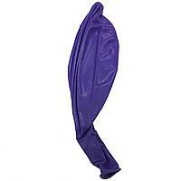 Шар сюрприз 80см фиолетовый темный