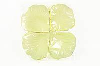Лепестки роз молочные №7 свадебные