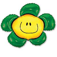 Фольга большая ромашка зеленая 901548