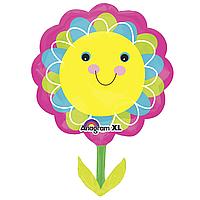 Фольга большая цветок