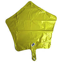 Фольга середня жовта зірка