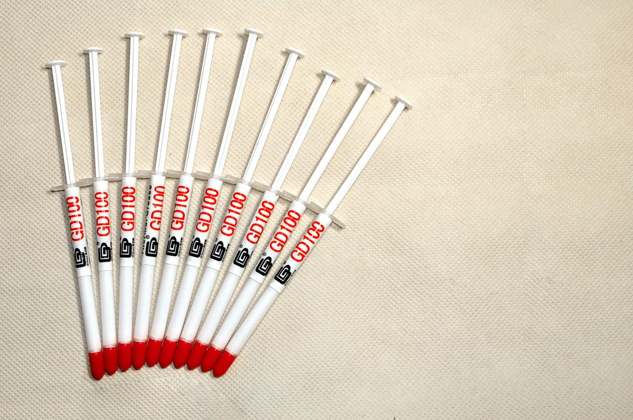 Термопаста GD100 1г шприц 10шт серая 1.094 Вт/(м*К) теплопроводящая (TPa-GD100 _1g)