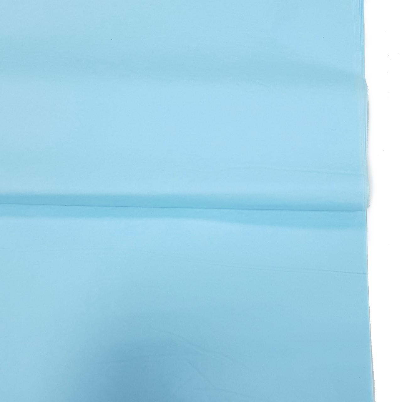 Бумага тишью нежно-голубая 100шт.