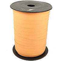 Лента бумажная для шаров оранжевая 0,5 см 500м