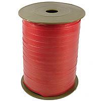Лента бумажная для шаров красная 0,5 см 500м