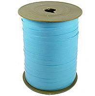 Лента бумажная для шаров голубая 0,5 см 500м