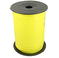 Лента бумажная для шаров желтая 0,5 см 500м