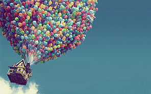 Композиция 1000 шаров для украшения