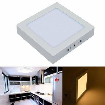 Светодиодная панель света 12w светодиодные потолочные светильники поверхностного монтажа AC 85 - 265V квадратный светодиодный потолочный светильник -, фото 2