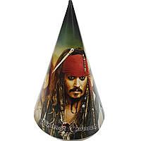Ковпачки Пірати карибського моря 5шт