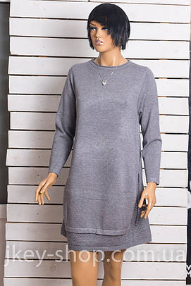 Платье женское ANOTHER PPT STYLE W-30836 DARK GREY