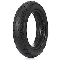 8.5 дюймов износостойкая резина твердая шина для Xiaomi Electric Scooter - Чёрный