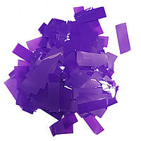 Конфетти прямоугольник фиолетовый 25г