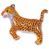 Фольга большая Леопард 901635