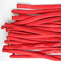 Шары ШДМ D4 260 пастель красный