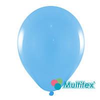 """Шары 10"""" 26 см пастель голубой"""