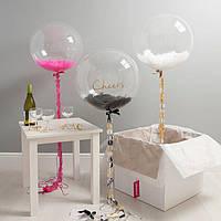 Воздушный шар абсолютно прозрачный 80 см