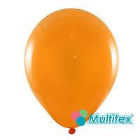 """Гелиевый шар 12"""" 30см пастель оранжевый"""