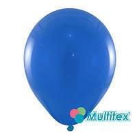 """Гелиевый шар 12"""" 30см пастель синий"""