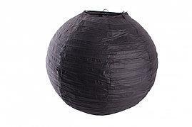 Бумажный шар 30см черный