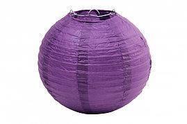 Бумажный шар 35см темно-фиолетовый