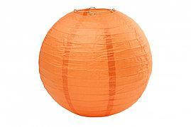 Бумажный шар 40см оранжевый