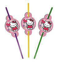 Трубочки Hello Kitty 8шт