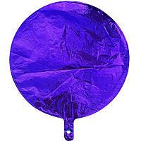 Гелієва куля фольга синій 45см