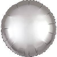 Гелієва куля фольга срібний 45см Anagram