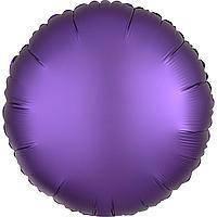 Гелієва куля фольга фіолетовий 45см Китай