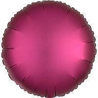 Гелієва куля фольга малиновий 45см Anagram