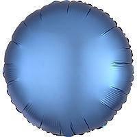 Гелієва куля фольга блакитний 45см Anagram